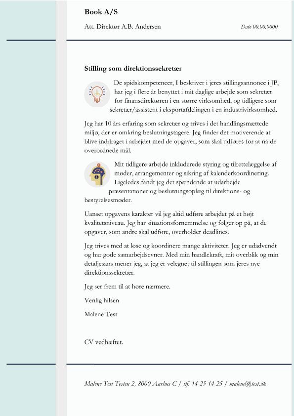 Sekretær Arkiv - Skrivansøgning