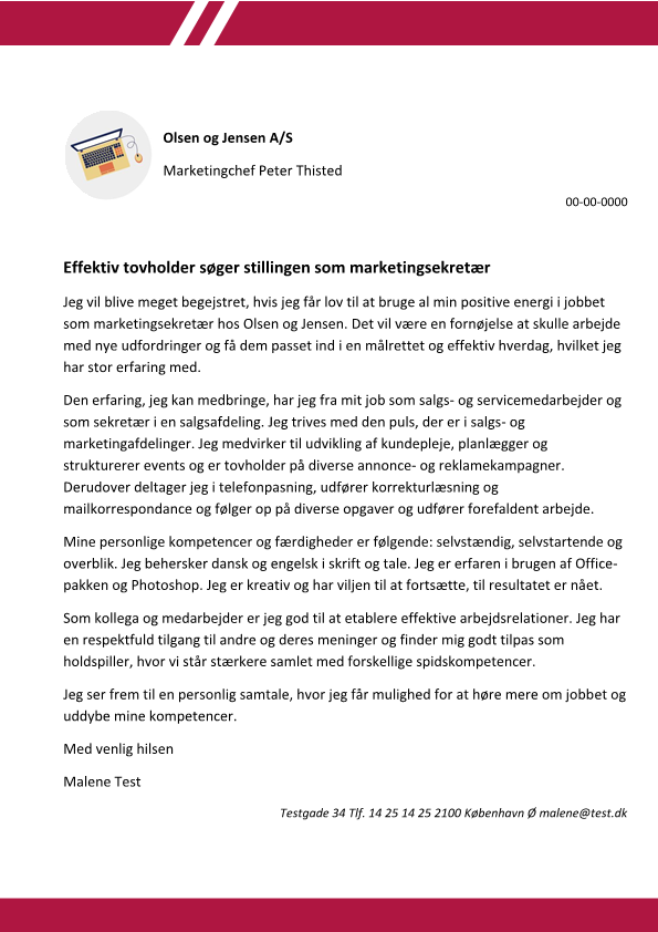 2-Marketingsekretaer