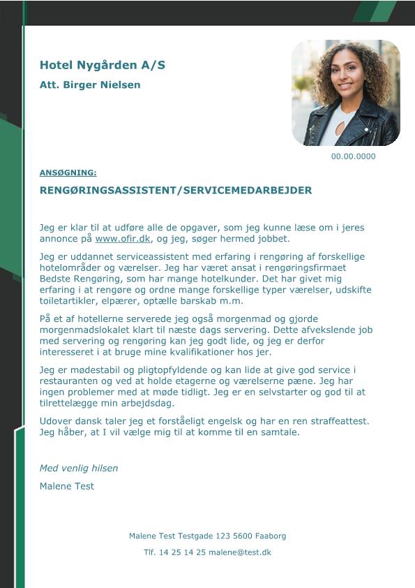 Rengøring Arkiv - Skrivansøgning