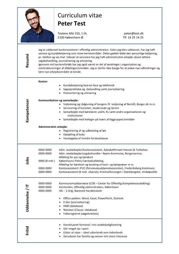 1 CV_Kompetence_Kontor_Kommunikation_Administrativ