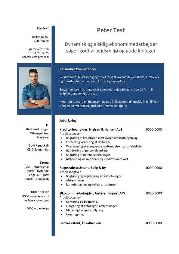 1 CV_Økonomimedarbejder-blå