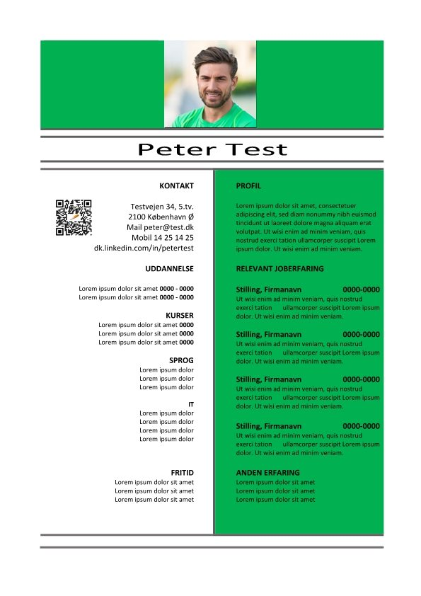 1 CV-skabelon-med-QR grøn