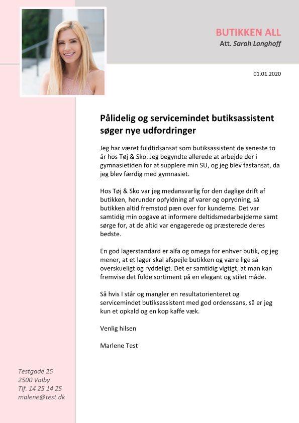 1 Pålidelig og servicemindet butiksassistent1 Pålidelig og servicemindet butiksassistent