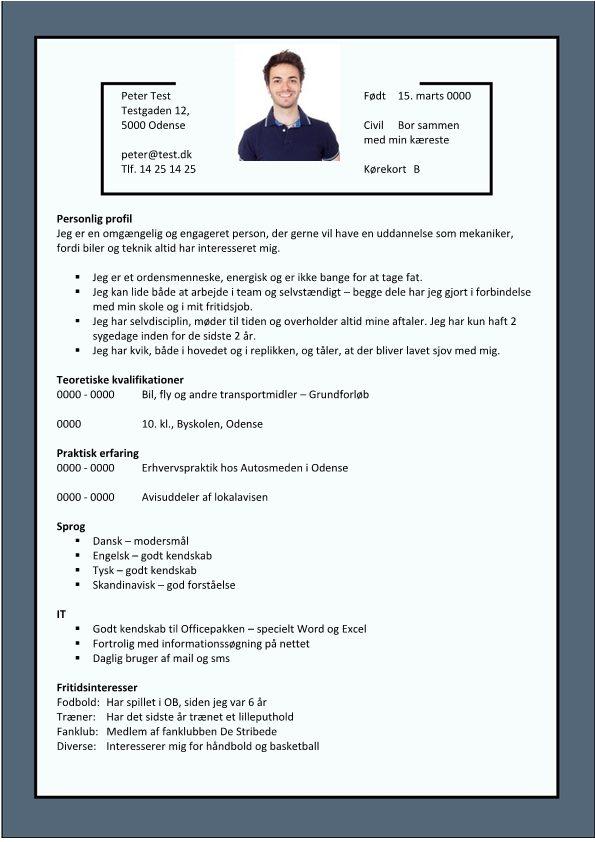 Ansøgning eksempel - Få inspiration til jobansøgning og CV