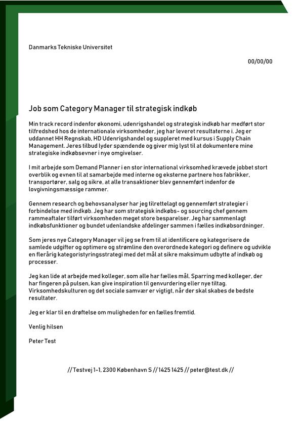 2-Category Manager til strategisk Indkøb