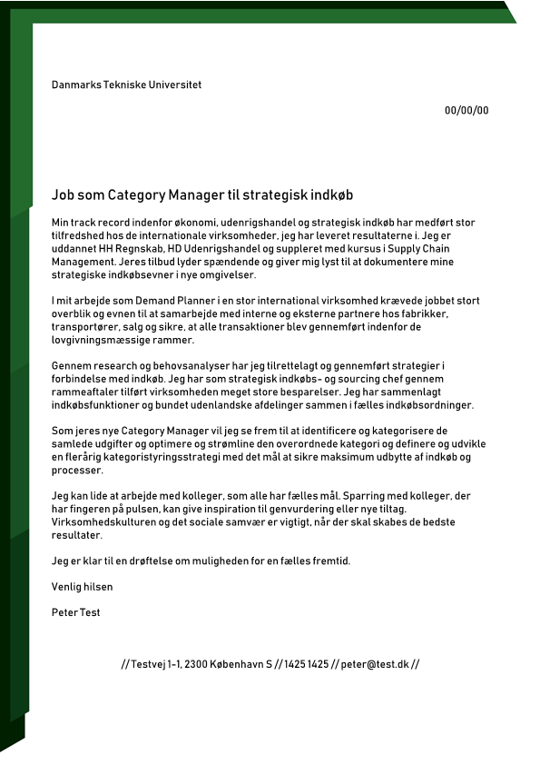 2-Category Manager til strategisk Indkøb
