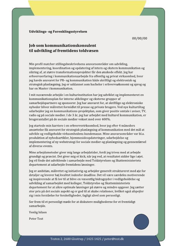 2-Kommunikationskonsulent til udviklingen af fremtidens toldvæsen