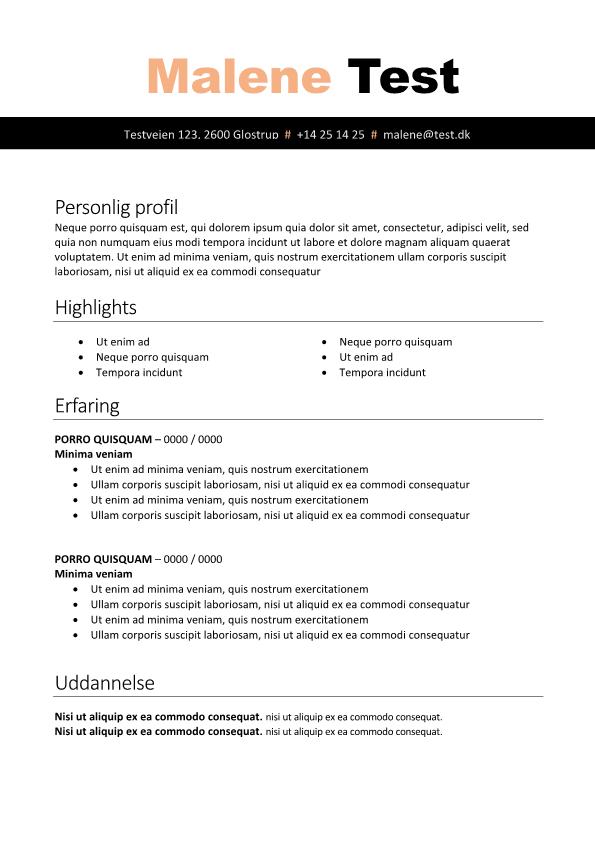 2-CV skabelon sort
