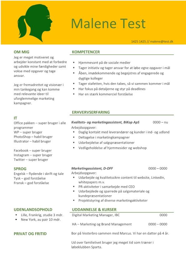 2-CV Marketingassistent