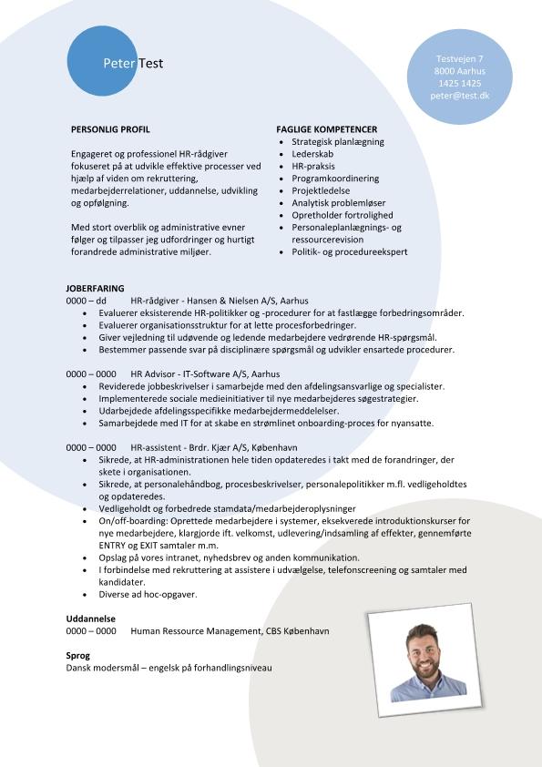 2 - CV HR rådgiver