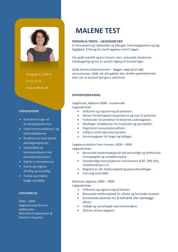 2 - CV Lægesekretær