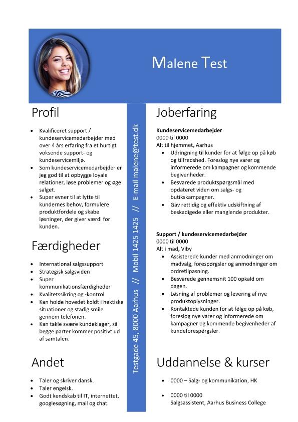 2 - CV Support og kundeservicemedarbejder