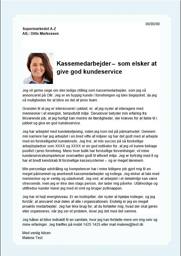 2-Kassemedarbejder - elsker god kundeservice